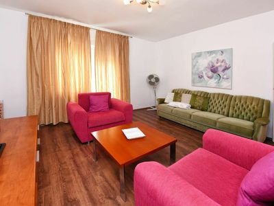 Photo for Nice apartment for 6 guests with A/C, WIFI, TV, balcony, pets allowed and parking