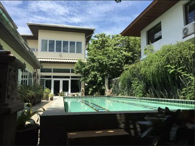 Photo for Quiet Pool Villa Sukhumvit near Airport