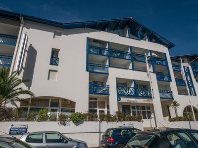 Photo for Studio apartment 1 km from the center of Hendaye with Lift, Terrace, Balcony (645499)