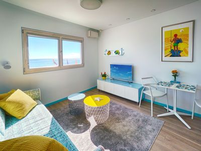 Photo for Ricardo House.-Surfers Studio.-Modern studio next to the beach with sea views