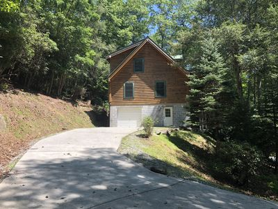 Photo for A Luxurious, Authentic Log Cabin Located 4,000' High in the Smokies