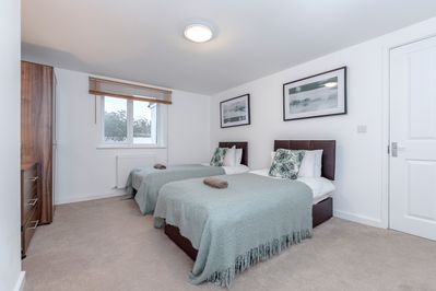 Beautifully furnished twin bedroom