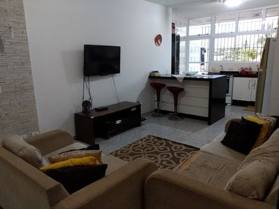 Photo for Spacious and cozy apartment near Praia Grande