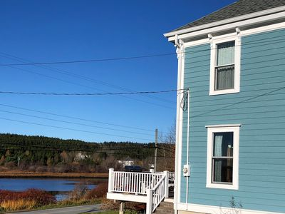 Photo for Waterfront serene historic home - Puffin's Cove