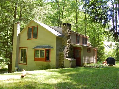 Photo for Cozy Cottage In Berkshire Woods, 3 Min. Walk to Lake Buel; Close to Butternut.