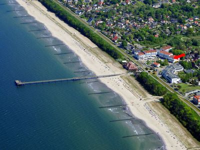 Photo for Close to the beach apartment on the pier in the Baltic resort Zingst