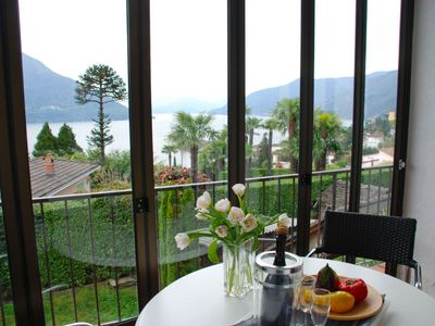 Photo for Vacation home Stellina del Sole in Brissago - 5 persons, 3 bedrooms