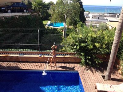 Photo for Holidays villa with private pool for 8 p