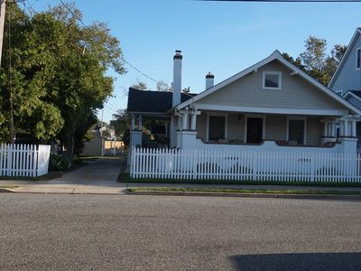 Photo for Perfect Beach Home-CLEANED w/DETAILS: 3 Porches,4 Blks Beach,1 Blk Park,2 badges