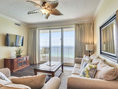 Photo for Stylish, Modern, SANITARY, Gulf front condo at the Twin Palm Resort!