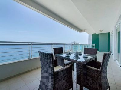 Photo for Seafront Luxury Apartment, Pool and Great Location