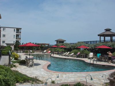 Photo for Spacious Luxury Condo Outdoor/Indoor Pool & Spa @ Croatan Surf Club (CSC3S - Drive In)
