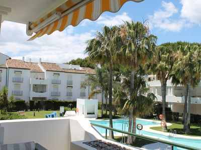 Photo for 2 bedroom spacious apartment beachside near Marbella