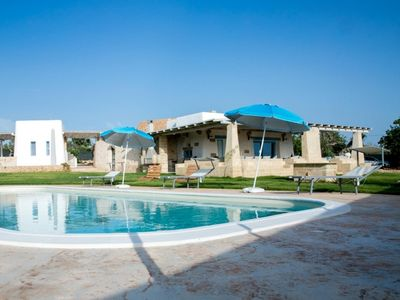 Photo for Vacation home Prestige pool trullo in Racale - 4 persons, 2 bedrooms