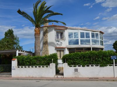 Photo for Villa Palmera with WiFi, 3 bedrooms, 2 bathrooms and pool in Els Poblets, Denia