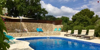 Photo for Holiday rental with 2 bedrooms, separate entrance, big terrace, BBQ, Pool, A/C