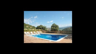 Photo for 9 bedroom Villa, sleeps 18 in Ponts with Pool, Air Con and WiFi