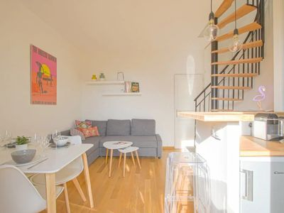 Photo for Lovely duplex with terrace close to the beach of Cabourg – Welkeys