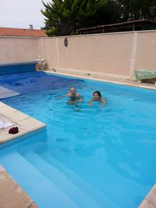Photo for Bed and breakfast, house, pool, la rochelle