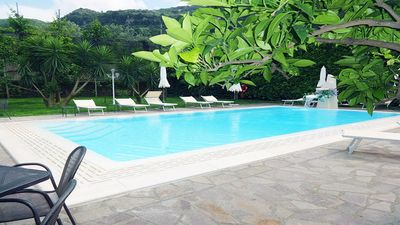 Photo for Nice Casa Ticky Sorrento apartment with pool, garden facilities and solarium