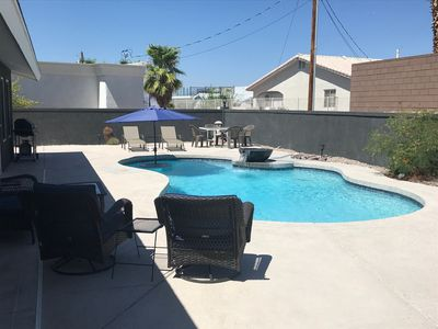 Photo for DESERT FEVER: Escape to a 3 Bedroom Pool Home with Paved /RV Parking