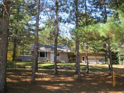 Photo for Retreat in the Pines! Convenient for families, fishers, and snowmobilers.