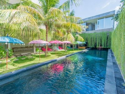 Photo for 6 Bedroom Villa, 25m Pool in Central Seminyak;