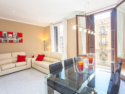 Photo for Apartment 502 m from the center of Barcelona with Lift, Internet, Washing machine, Air conditioning (278537)