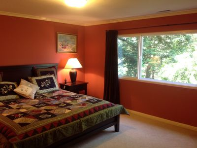 Photo for Secluded retreat among the redwood trees but close to everything.