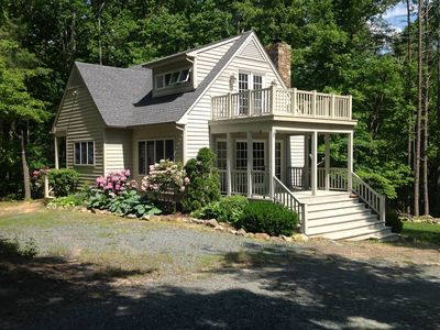 Photo for The Cottage at Peavine Hollow Farm - A country chic cottage in woodsy setting
