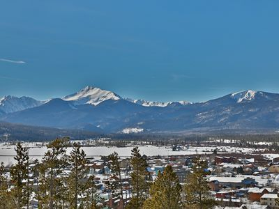 Photo for VIEWS located Fraser less than minutes from WP on FREE shuttle line to downtown and slopes.