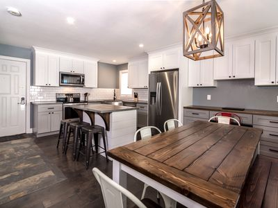 Photo for New!!! Modern Mountainside Escape Bike, Hike, Ski in/out Family-Friendly Condo