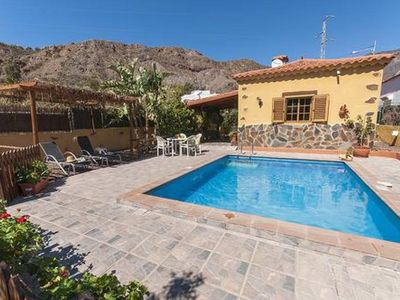 Photo for san bartolome de tirajana rural house and with private pool with wi-fi Free