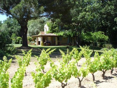House from our vineyard