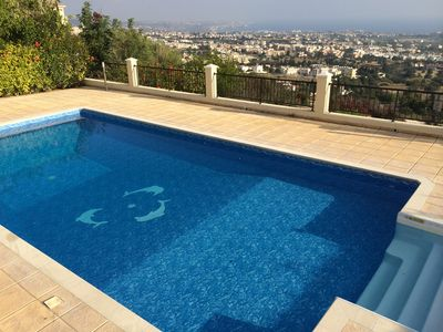 Great view from the pool