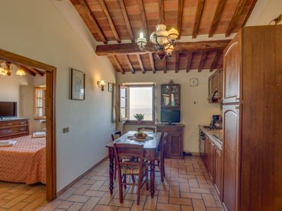 Photo for Apartment San Benedetto  in Cortona, Arezzo, Cortona and surroundings - 3 persons, 1 bedroom