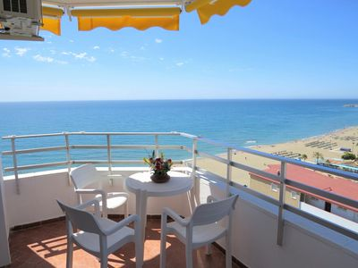 Photo for Ref: 260-1 bedroom apartment in Ronda 3 facing the sea with sunny balcony