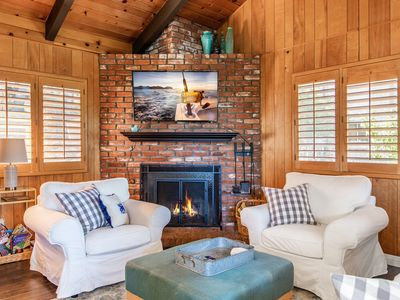 Photo for New Listing! Charming Cottage w/ Deck & Fireplace, Near Lake Arrowhead