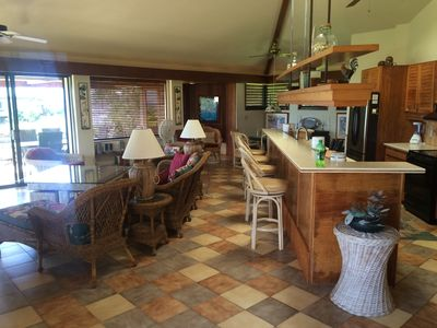 Main Room and Kitchen/Dining Area