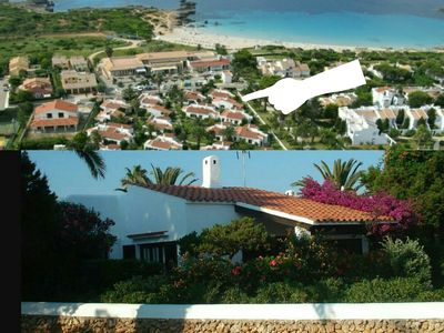Photo for HOUSE AND GARDEN PRIVATE MENORQUINA 50 METERS FROM THE BEACH ARE XORIGUER