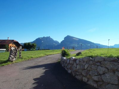 Photo for family-friendly apartment near Spiez u. Interlaken, max. 4 Ext. / 1 ​​Ki.