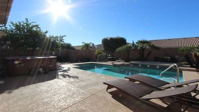 Photo for South facing ALWAYS Sunny Private Htd Pool & Spa/Minutes 2 Kierland