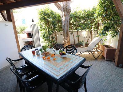 Photo for Cottage with Air Conditioning, Garden and Terrace; Pets Allowed