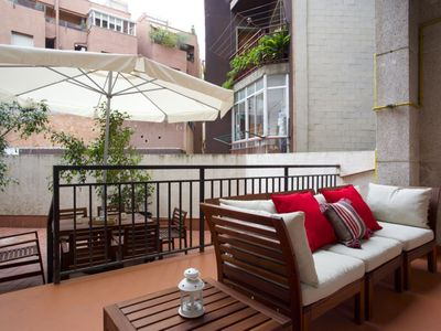 Photo for Apartment in Barcelona with Internet, Air conditioning, Lift, Terrace (992220)