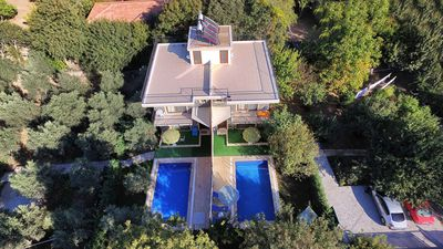 Photo for KAY1400-Holiday Villa in Kayakoy With Two Swimmingpools