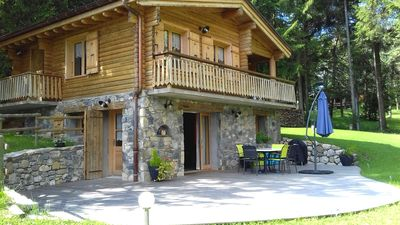 Photo for SUPERB CHALET between Lake and Mountains near Annecy and ski resorts
