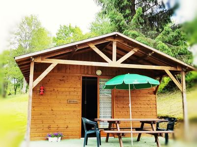Photo for Camping La Ripole *** - Chalet Campahutte 3 Rooms 4 People Without Bathroom