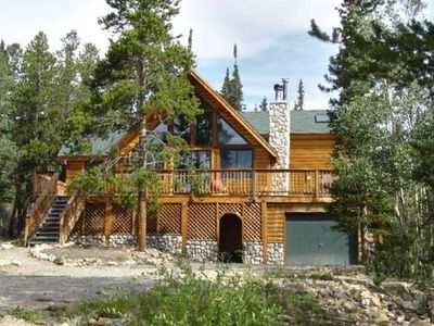 Photo for Secluded Mountain Home with hot tub - 20 Minutes to Breckenridge!