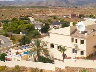 Photo for Family villa with large pool, table football & pool table + free Wi-Fi