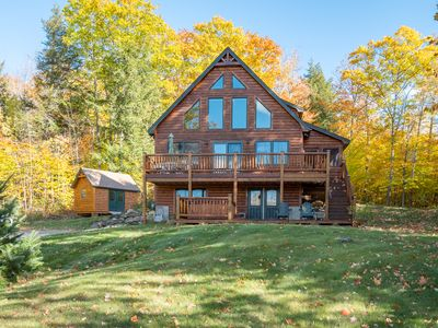 Photo for Stunning Bethel mountain chalet 15 minutes to Sunday River